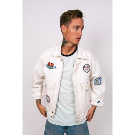 JEANS JACKET 2 - OFF WHITE