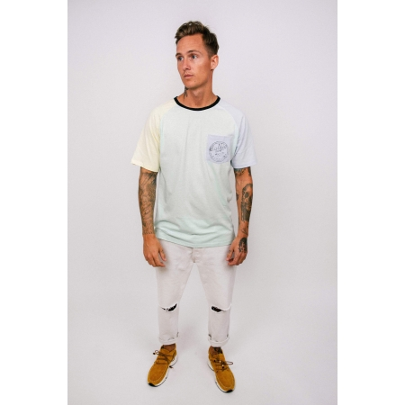 T - SHIRT MAN SLEEVES 3 - PARADISE PASTELS