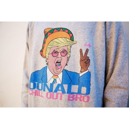 SWEATSHIRT MAN 7 - DONALD GREY